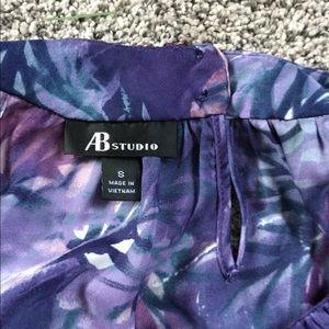 AB Studio Tops - Jewel tone sleeveless top
